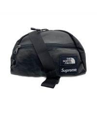 Supreme×THE NORTH FACE(シュプリーム×ザ・ノースフェイス)の古着「Leather Roo II Lumbar Pack」|ブラック