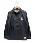 CRIMIE(クライミー)の古着「イーグルロゴナイロンジャケット」 ブラック