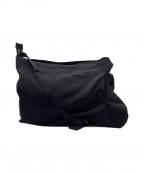 discord Yohji Yamamoto(ヨウジヤマモト)の古着「GABARDINE TUCK DRAPE BAG」|ブラック