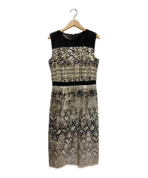 GIAMBATTISTA VALLi(ジャンバティスタ・バリ)GIAMBATTISTA VALLi (ジャンバティスタ・バリ) シルクワンピース サイズ:40/XSの古着・服飾アイテム