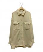 LAGUNA MOON(ラグナムーン)の古着「オーバーサイズCPOシャツ」|イエロー