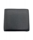 BVLGARI(ブルガリ)の古着「2つ折り財布」|ブラック