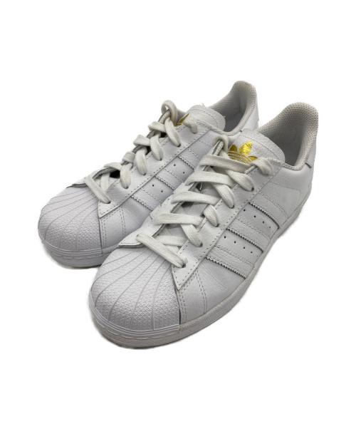 adidas(アディダス)adidas (アディダス) スニーカー ホワイト サイズ:22.5 FU9196 SUPERSTARの古着・服飾アイテム