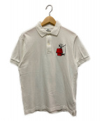 LACOSTE×PEANUTS(ラコステ×ピーナッツ)の古着「コラボポロシャツ」|ホワイト