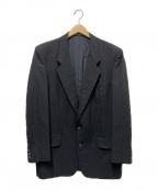 COMME des GARCONS HOMME()の古着「ウールテーラードジャケット」|ブラック