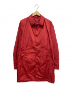 ASPESI(アスペジ)の古着「ナイロンコート」 レッド