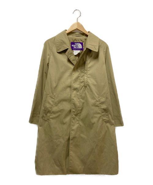 THE NORTHFACE PURPLELABEL(ザノースフェイスパープルレーベル)THE NORTHFACE PURPLELABEL (ザノースフェイスパープルレーベル) 65/35ステンカラーコート ベージュ サイズ:S 65/35 Soutien Coller Coatの古着・服飾アイテム