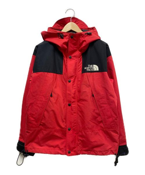 THE NORTH FACE(ザ ノース フェイス)THE NORTH FACE (ザノースフェイス) 90'sマウンテンガイドジャケット レッド×ブラック サイズ:М 90's ヴィンテージの古着・服飾アイテム