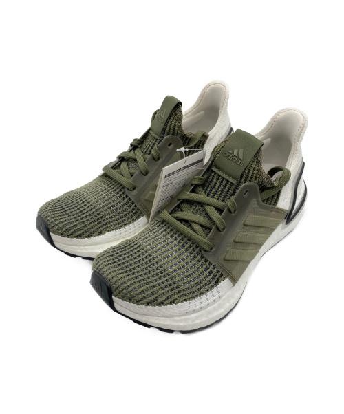 adidas(アディダス)adidas (アディダス) スニーカー オリーブ サイズ:23.5 未使用品 F35243 UltraBOOST 19の古着・服飾アイテム
