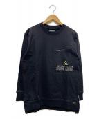 DUFFER BLACK LABEL(ダファー ブラック レーベル)の古着「ロングスリーブカットソー」 ブラック