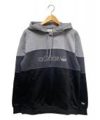adidas(アディダス)の古着「プルオーバーパーカー」|グレー
