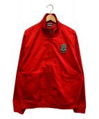 ()の古着「別注ハリントンジャケット」|レッド