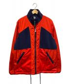 ()の古着「ポーラーフリースジャケット」|ネイビー×レッド