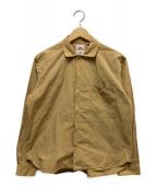 ()の古着「コットンブロードシャツ」|ベージュ