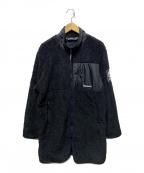 Timberland(ティンバーランド)の古着「フリースボアコート」|ブラック