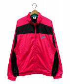 NIKE(ナイキ)の古着「ヴィンテージパッチワークナイロンジャケット」|ピンク
