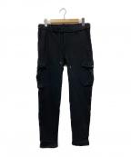 wjk(ダブルジェイケー)の古着「スーパーストレッチカーゴパンツ」|ブラック