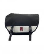 CHROME(クローム)の古着「メッセンジャーバッグ」 ホワイト×ブラック