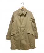 ORCIVAL()の古着「ラグランステンカラーコート」 ベージュ