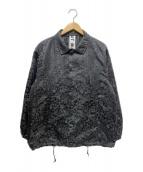 ()の古着「チャイナコーチジャケット」|ブラック