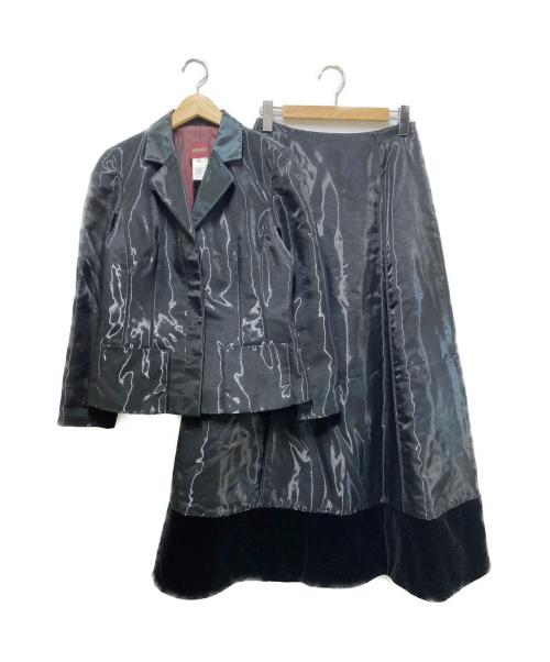 KENZO(ケンゾー)KENZO (ケンゾー) ヴィンテージチュールセットアップ ブラック サイズ:40 ヴィンテージの古着・服飾アイテム