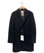 FACTOTUM(ファクトタム)の古着「チェスターコート」|ブラック
