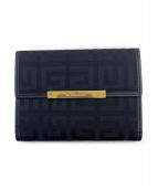 GIVENCHY(ジバンシィ)の古着「2つ折り財布」|ブラック