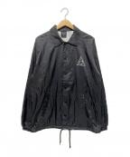 HUF(ハフ)の古着「ナイロンコーチジャケット」 ブラック