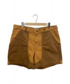 ()の古着「ロードトゥリジェナラブルスタンドアップショーツ」|ブラウン