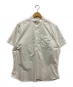 INDIVIDUALIZED SHIRTS(インディビジュアライズドシャツ)の古着「スタンドカラーPOシャツ」|ホワイト