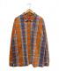 SUPREME(シュプリーム)の古着「ハーフジップシャツ」|オレンジ