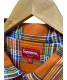 中古・古着 SUPREME (シュプリーム) ハーフジップシャツ オレンジ サイズ:L:12800円