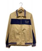 ()の古着「60'sヴィンテージブルゾン」|ベージュ×ネイビー