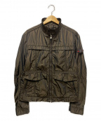 PEUTEREY(ピューテリー)の古着「スタンドカラージャケット」 ブラウン