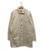 Trophy Clothing(トロフィークロージング)の古着「カバーオールコート」 アイボリー