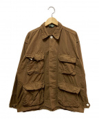 ROTHCO(ロスコ)の古着「BDUシャツ」|ブラウン