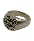 CHARI & CO NYC(チャリアンドコーニューヨーク)の古着「ロゴリング」|シルバー