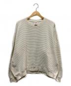 VOTE MAKE NEW CLOTHES(ヴォートメイクニュークローズ)の古着「ファットサーマルクルーネックカットソー」|ホワイト