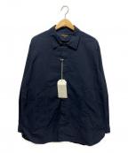 A vontade(アボンタージ)の古着「ガーデナーシャツジャケット」|ブラック