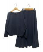 PLST(プラステ)の古着「リラックススカートセットアップ」|ブラック