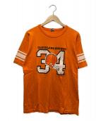 ()の古着「ヴィンテージTシャツ」|オレンジ