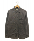 ()の古着「ダックディガーデニムシャツ」|ブラック