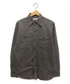 WAREHOUSE(ウェアハウス)の古着「ダックディガーデニムシャツ」|ブラック