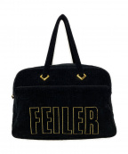 FEILER(フェイラー)の古着「ロゴボストンバッグ」|ブラック