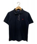 BURBERRY LONDON(バーバリーロンドン)の古着「ポロシャツ」|ブラック