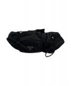PRADA(プラダ)の古着「マルチポケットベルトバッグ」|ブラック