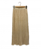Ron Herman(ロンハーマン)の古着「シワプリーツロングスカート」|アイボリー
