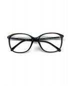 CHANEL(シャネル)の古着「伊達眼鏡」|ブラック