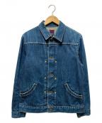 BRU NA BOINNE(ブルーナボイン)の古着「ダーラデニムジャケット」|インディゴ