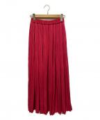 RHC Ron Herman(アールエイチシー ロンハーマン)の古着「プリーツスカート」|ショッキングピンク